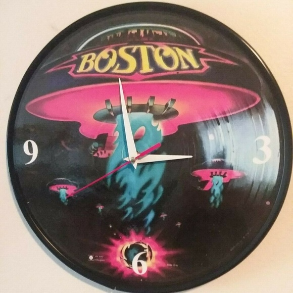 New Homemade Other - BOSTON - 12 INCH WALL CLOCK NEW